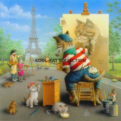 Purr-Fect Paris Portrait