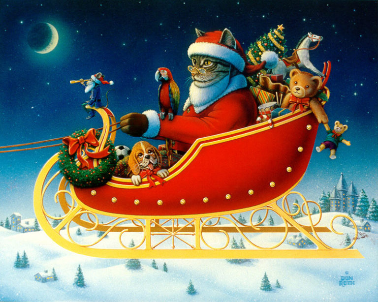 A One Mouse Open Sleigh