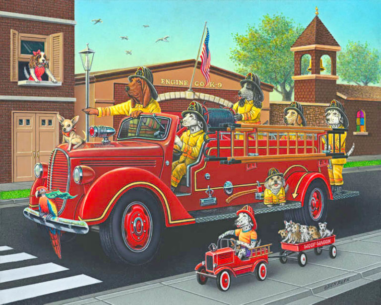 K-9 Fire Department