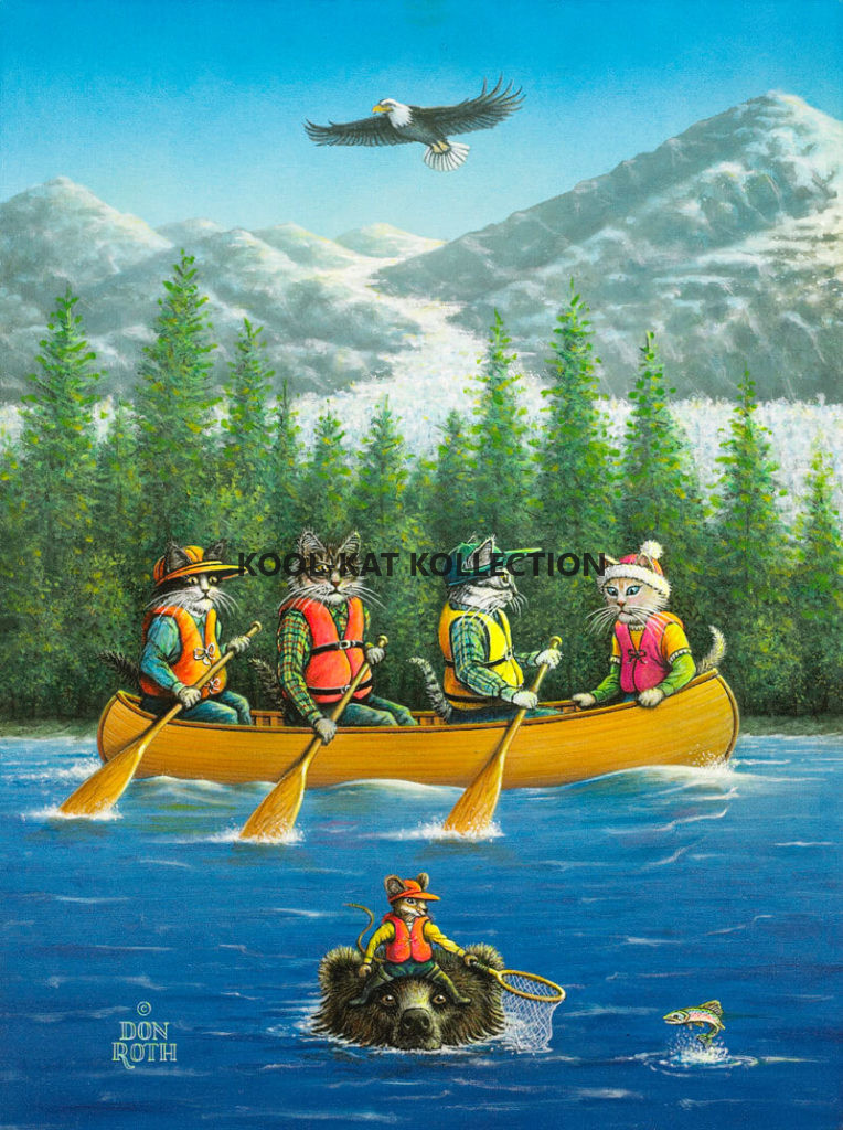 Kitty Canoe & Salmon Too