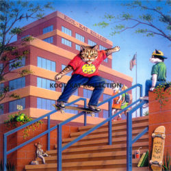 Kool-Kat Skateboarder