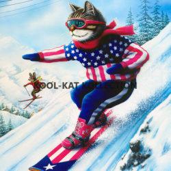 Kool-Kat Snowboarder