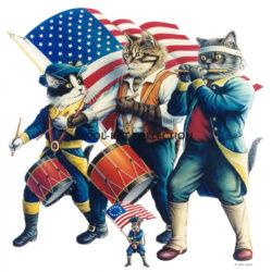 Yankee Doodle Tabby