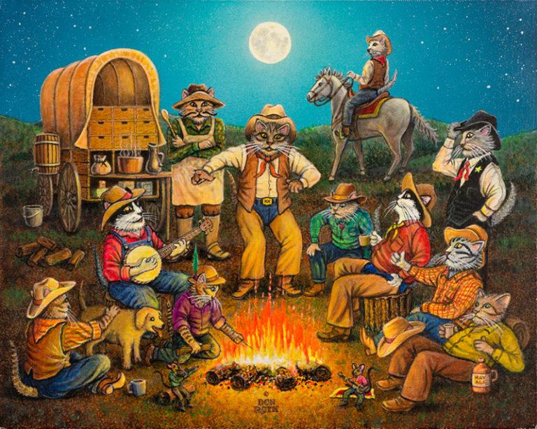 Kowboy Kampfire