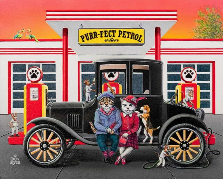 Purr-fect Petrol